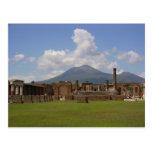 Mount Vesuvius, Pompeii Post Card