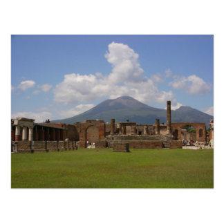 Mount Vesuvius, Pompeii Postcard