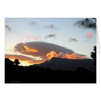 Mount Waialeale - Kauai, Hawaii Note Card