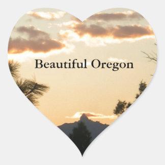 Mount Washington At Sunset Sticker