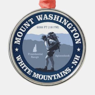 Mount Washington Christmas Ornament