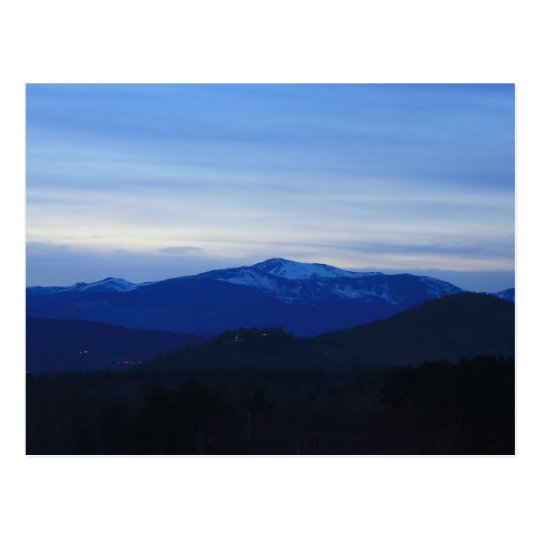 Mount Washington Twilight Postcard