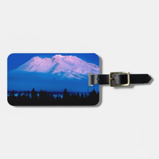 Mountain Above The Clouds Mt Shasta California Luggage Tag