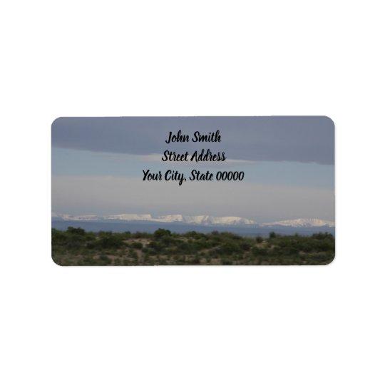 Mountain Address Labels