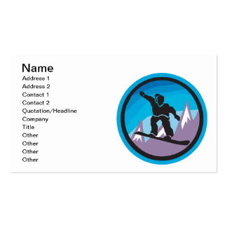 Mountain Air Pack Of Standard Business Cards