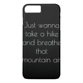 Mountain air iPhone 7 plus case
