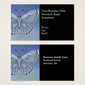 Mountain Alcon Blue Butterfly Business Card