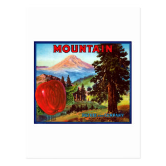 Mountain Apples Portland Oregon Postcard