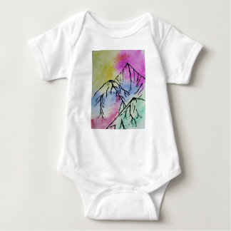 Mountain art bodysuit