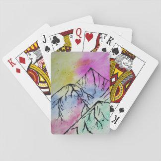 Mountain art cards