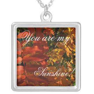 Mountain Ash in the Fall; Sweet Nothings Personalized Necklace