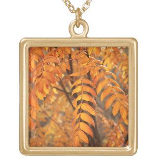 Mountain Ash Leaves - Autumn Custom Necklace