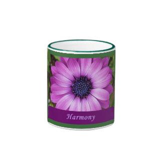 Mountain Aster purple harmony mug