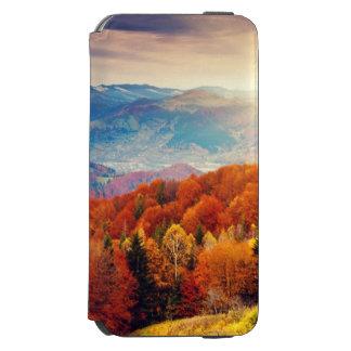 Mountain autumn forest landscape incipio watson™ iPhone 6 wallet case