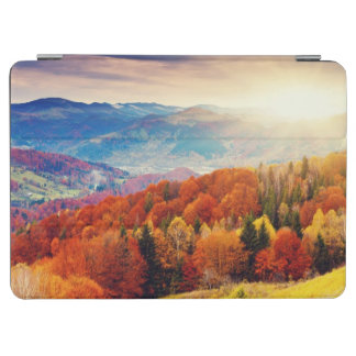 Mountain autumn forest landscape iPad air cover