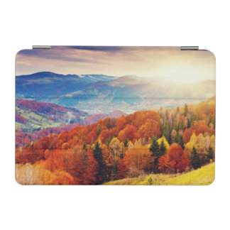 Mountain autumn forest landscape iPad mini cover