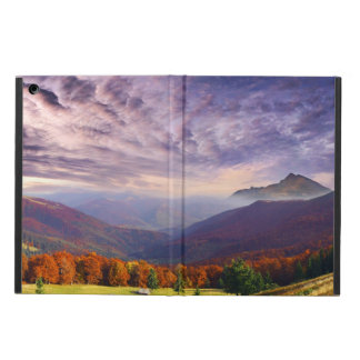 Mountain autumn landscape with forest 2 iPad air case