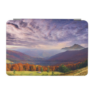 Mountain autumn landscape with forest 2 iPad mini cover