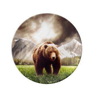 Mountain Bear Plate