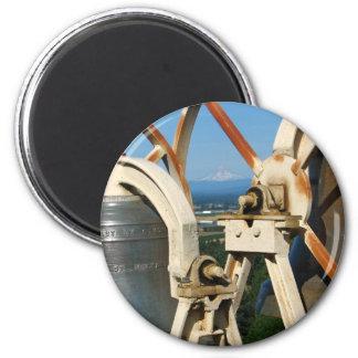 Mountain Bells 6 Cm Round Magnet