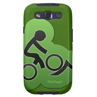 Mountain Bicycle Biker Samsung Galaxy S3 Case