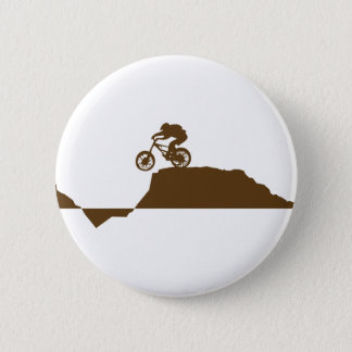 Mountain Bike 6 Cm Round Badge