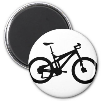 Mountain Bike bicylce pushbike 6 Cm Round Magnet