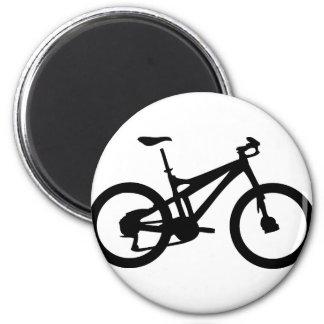 Mountain Bike bicylce pushbike 6 Cm Round Magnet