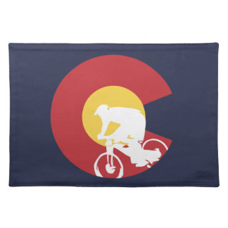 Mountain Bike Colorado Placemat