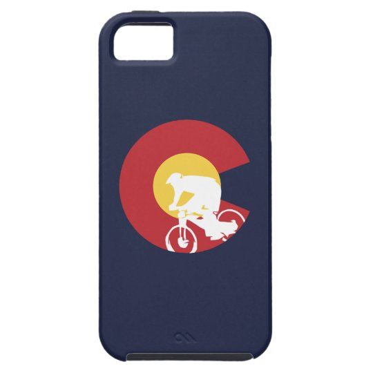 Mountain Bike Colorado Tough iPhone 5 Case