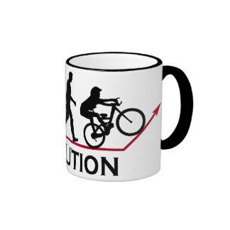 Mountain Bike Evolution Coffee Mug