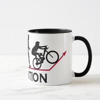 Mountain Bike Evolution Mug