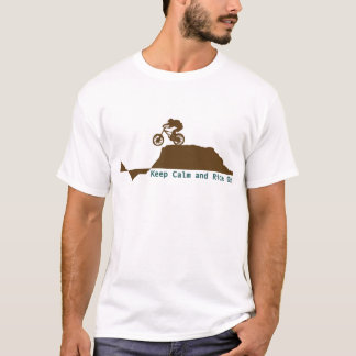Mountain Bike - Keep Calm T-Shirt