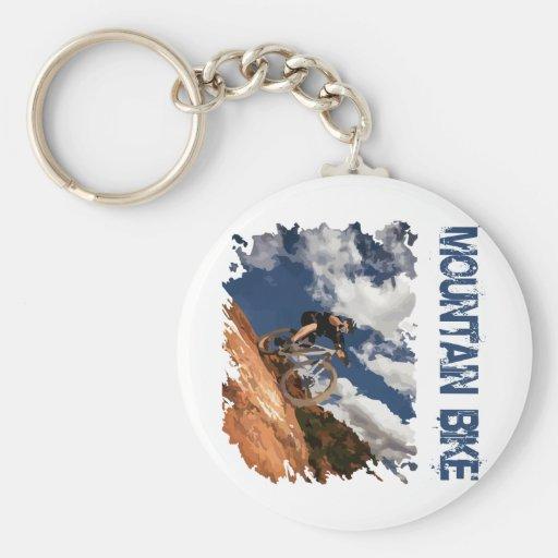 Mountain Bike Key Chains