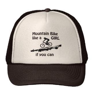 Mountain bike like a girl cap