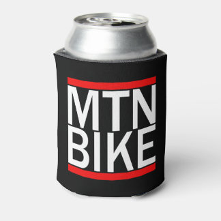 Mountain Bike Rap Style Coozie