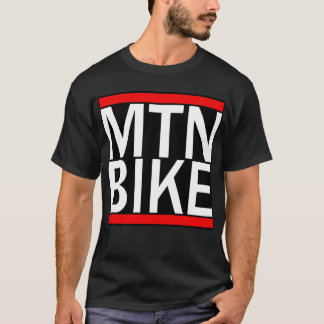 Mountain Bike Rap Style T shirt