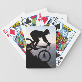 Mountain Bike Rider. Lions Head, Cape Town Bicycle Playing Cards