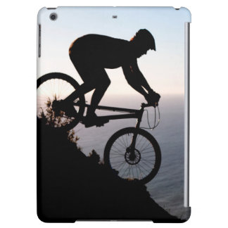 Mountain Bike Rider. Lions Head, Cape Town Cover For iPad Air