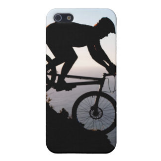 Mountain Bike Rider. Lions Head, Cape Town iPhone 5/5S Cover
