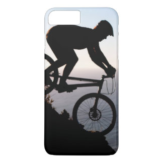 Mountain Bike Rider. Lions Head, Cape Town iPhone 8 Plus/7 Plus Case