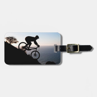 Mountain Bike Rider. Lions Head, Cape Town Luggage Tag