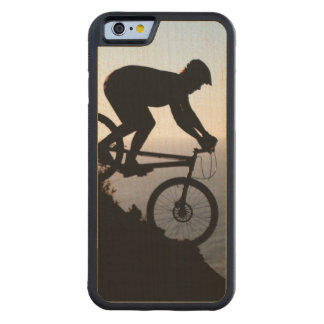 Mountain Bike Rider. Lions Head, Cape Town Maple iPhone 6 Bumper