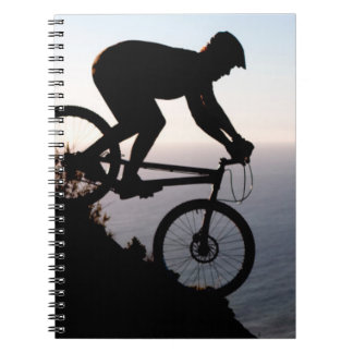 Mountain Bike Rider. Lions Head, Cape Town Notebook