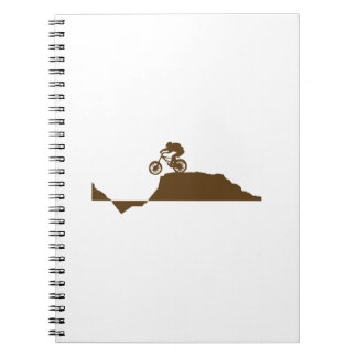 Mountain Bike Spiral Notebook