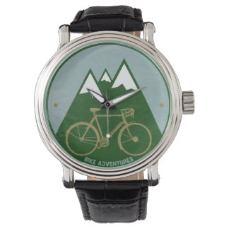 mountain bike stylish hour watch