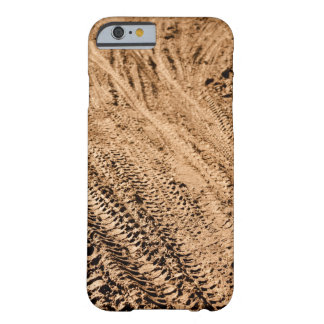 Mountain Bike Tracks Background Barely There iPhone 6 Case