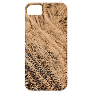 Mountain Bike Tracks Background Case For The iPhone 5