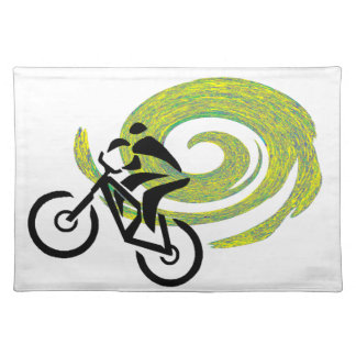 MOUNTAIN BIKE TRANCE PLACEMAT