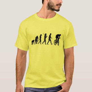 Mountain bike yellow jersey bikers shirt